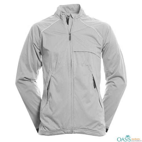 Alluring White Softshell Jacket