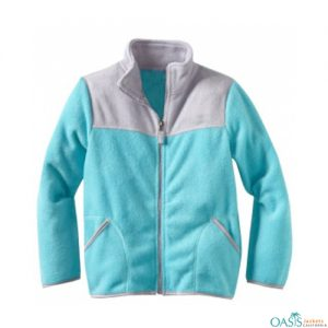 Aquamarine Polar Fleece Jacket
