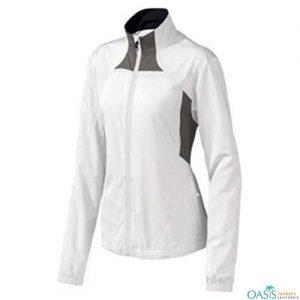 Arctic White Running Jacket