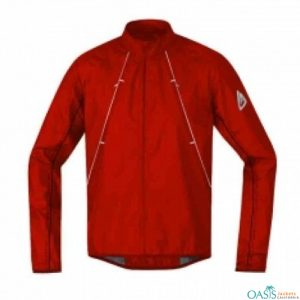 BRICK RED SPORTS JACKET