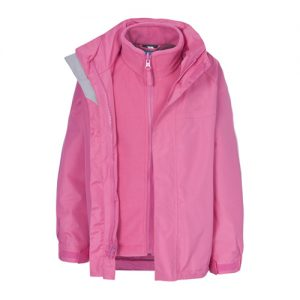 Wholesale Baby Pink 3 in 1 Waterproof Jacket