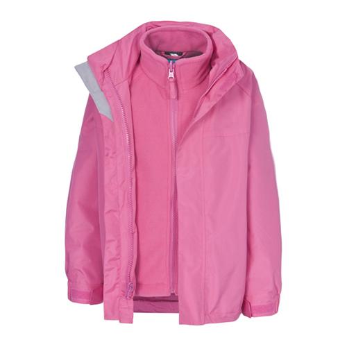 Wholesale Baby Pink 3 in 1 Waterproof Jacket