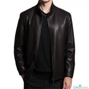 Bewitching Black Leather Jacket