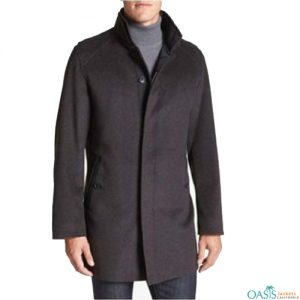Black Comfy Trench Coat