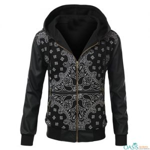 Black and White Sublimation Jacket