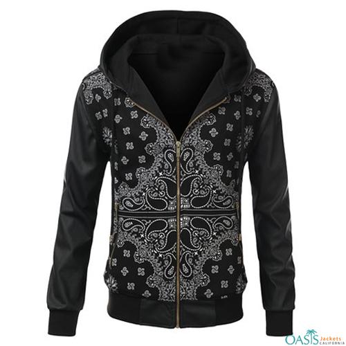 Black and White Sublimation Jacket