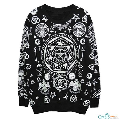 Black full sleeve sweatshirt