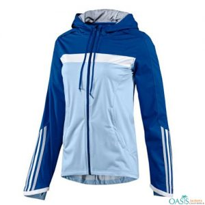 Blizzard Blue Dri Fit Zipper