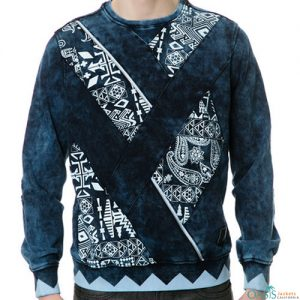 Blue Crewneck Sweatshirts