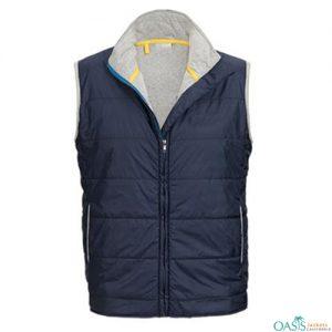 Blue Stylish Vest Jacket