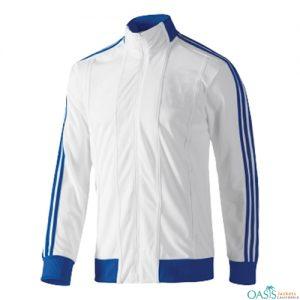 BLUE & WHITE SPORTS JACKET