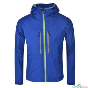 Blue Zipper Running Jacket