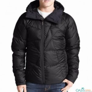 Bold Black Down Jacket