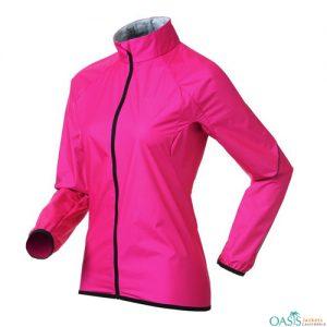 Bold Pink Running Jacket