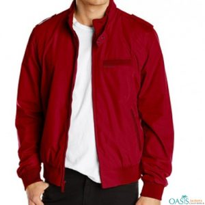BRICK RED LIFESTYLE JACKET