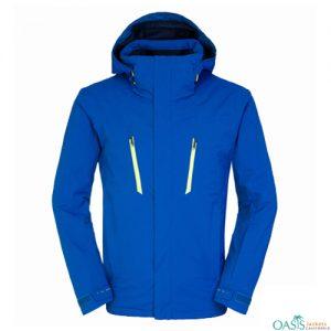 Bright Blue Ski Jacket
