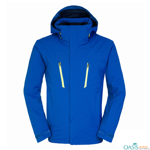 Bright Blue Ski Jacket
