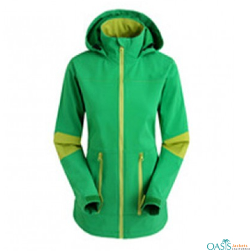 Bright Green Jacket for Women