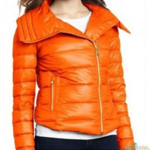 Bright Orange Down Jacket
