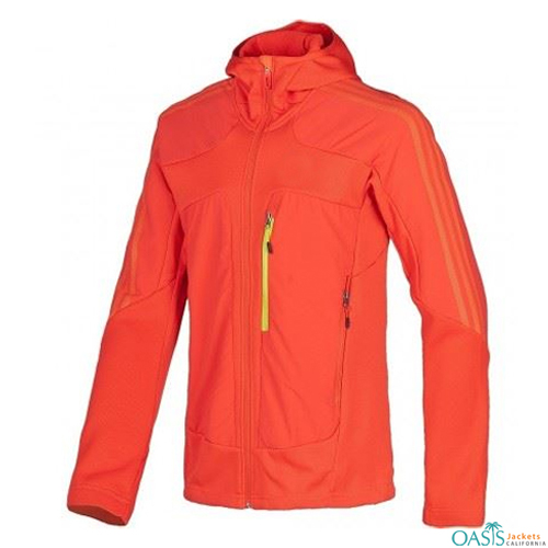 Bright Orange Sports Jacket