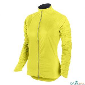 Bright Yellow Running Jacket