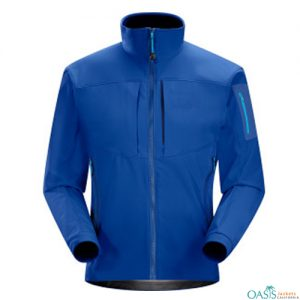 BRILLIANT BLUE SOFTSHELL JACKET
