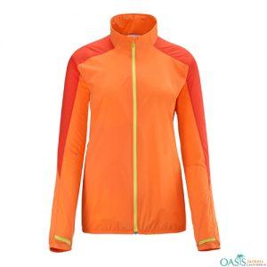 Bubble Gum Orange Running Jacket