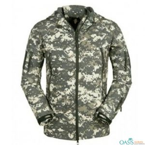 Bush Printed Army Jacket