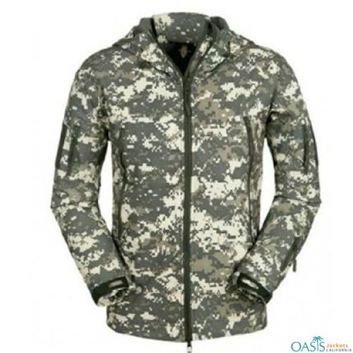 Bush Printed Army Jacket