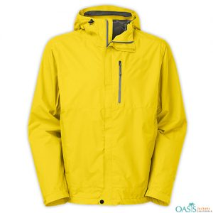 Canary Yellow Rain Jacket