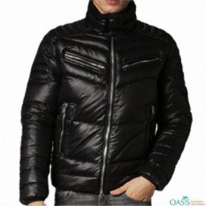 Captivating Black Down Jacket