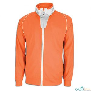 Charcoal Orange Team Jackets