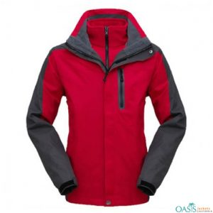 Cherry Red 3 in 1 Jacket