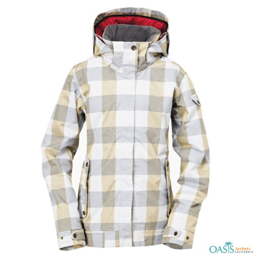 Chessboard Ski Jacket
