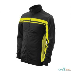Classic Black Running Jacket