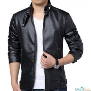 Wholesale Comfortable Leather Jacket
