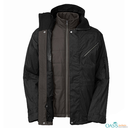 Controller Black Ski Jacket