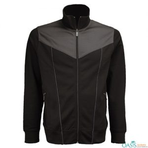 COOL BLACK AND GREY SPORTS JACKET