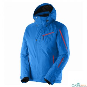 Cool Blue Ski Jacket