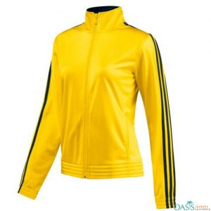 COOL YELLOW SPORTS TEAM JACKET