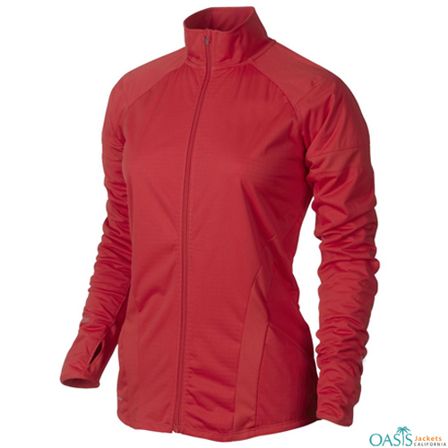 CREAMY RED SPORTS JACKET