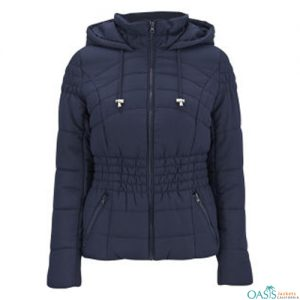 Dark Blue Heavily Padded Jacket