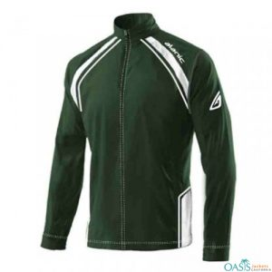 Dark Green Fitness Jacket