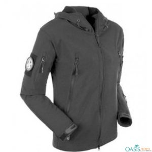 Dark Grey Army Jacket