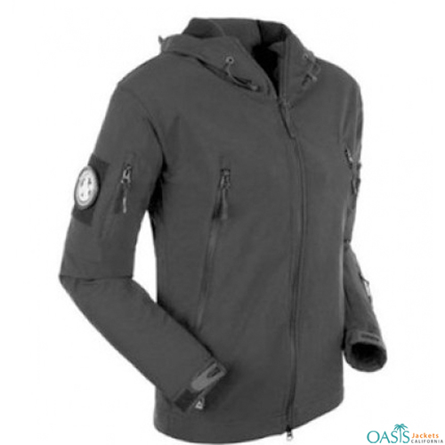 Dark Grey Army Jacket