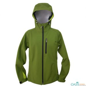 Dill Green Soft Shell Jacket