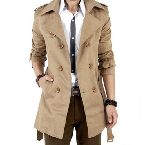 Double Breasted Trench Coat