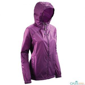 Dressy Purple Rain Jacket
