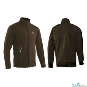 Earth Brown Sports Jacket