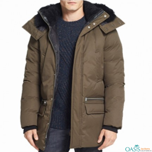 Fabulous Brown Down Jacket